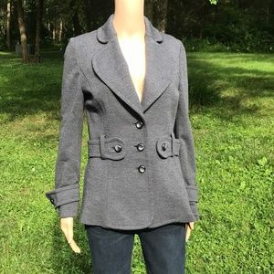 Carolina Herrera Blazer Gray wool Jacket